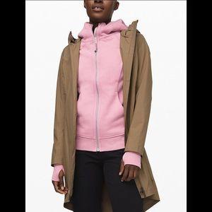 lululemon athletica Jackets & Coats - Lululemon Scuba Hoodie Light Cotton Fleece